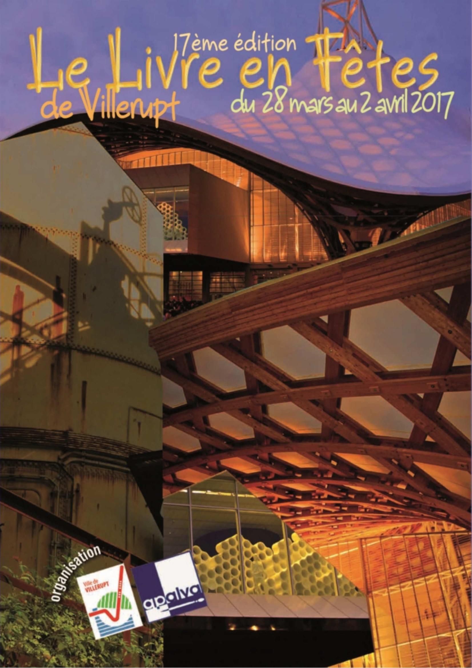 Programme Livre en Fête Villerupt 2017