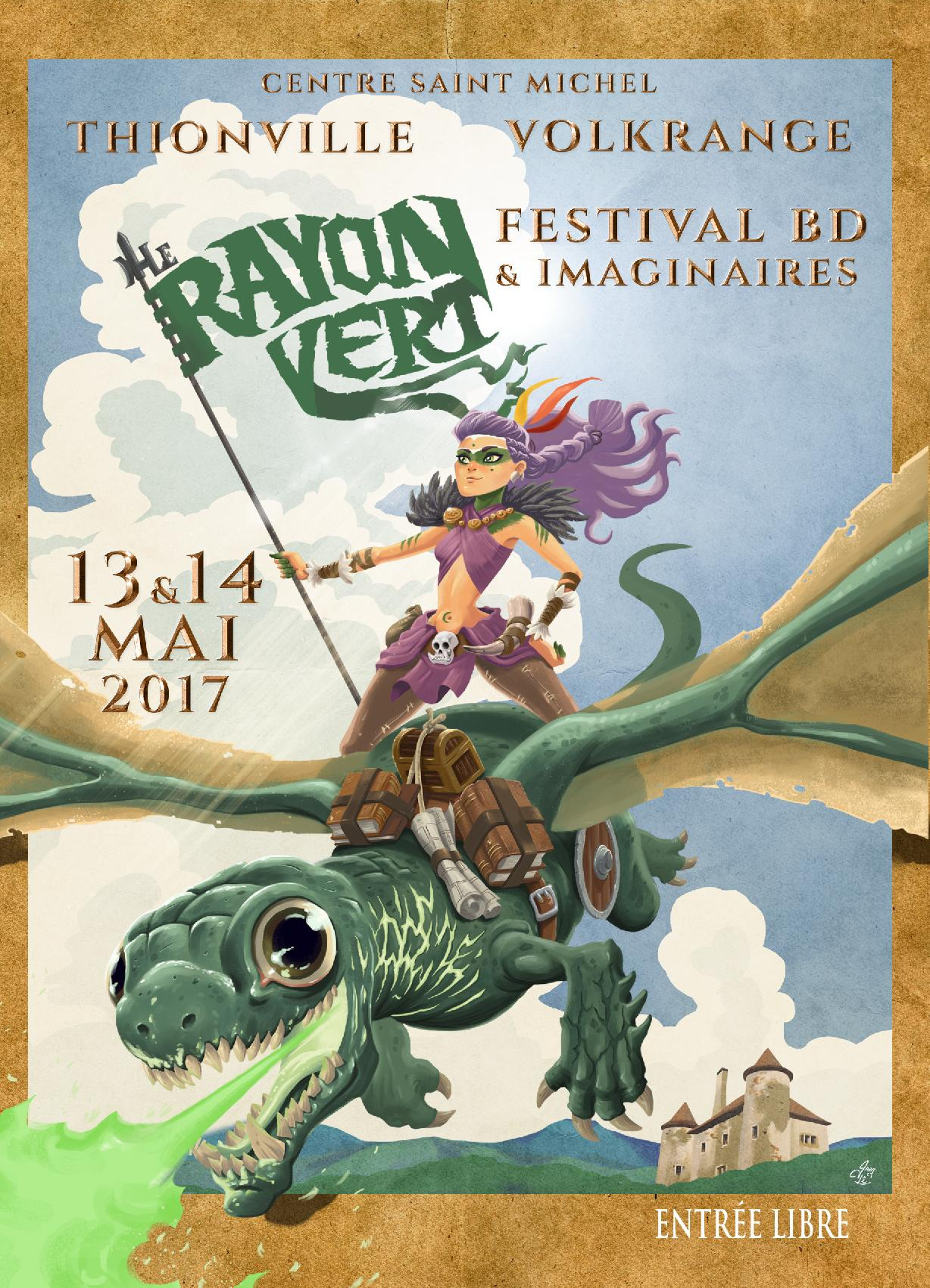 Festival BD Le Rayon Vert Thionville