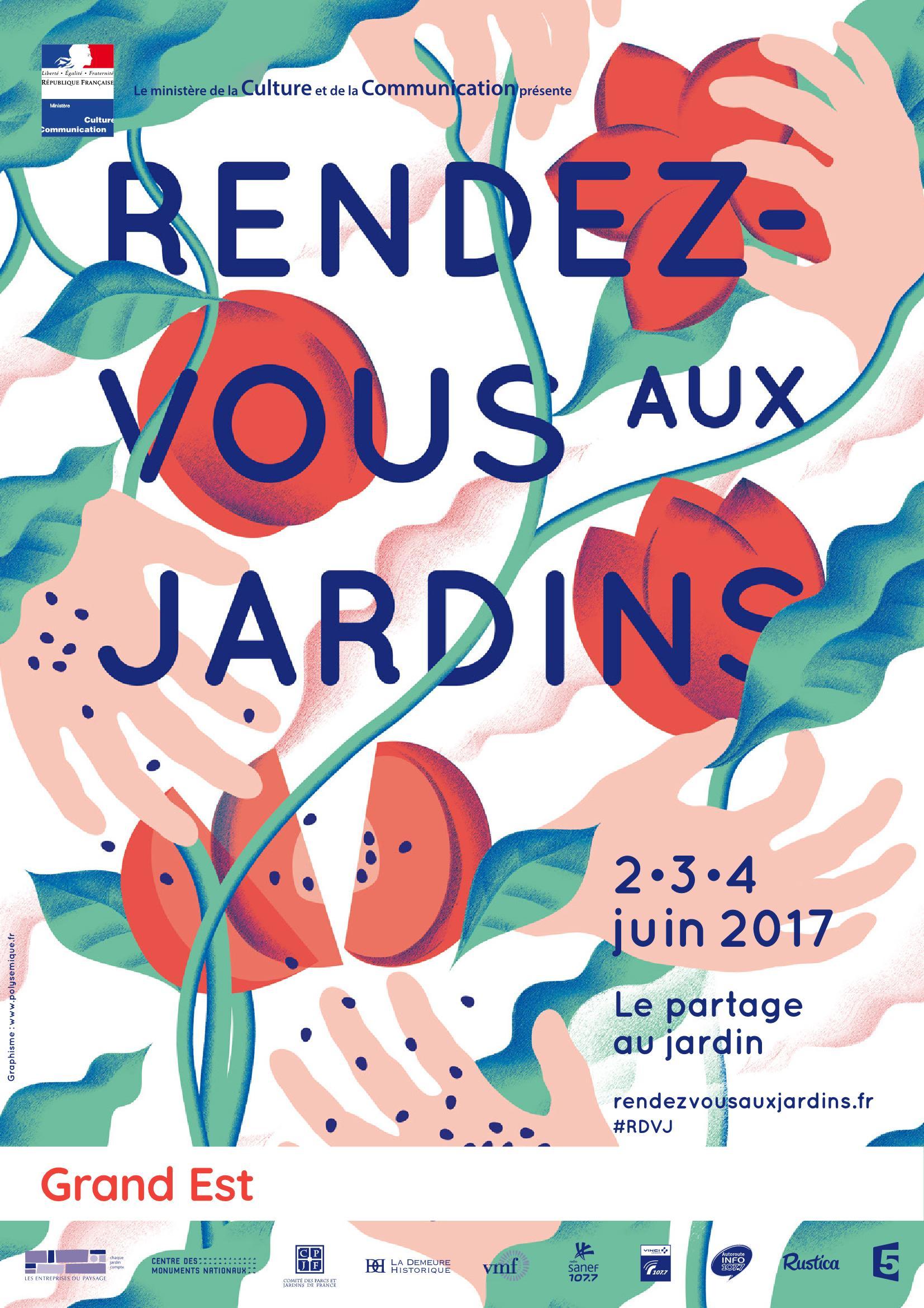 Programme des Rendez-Vous aux Jardins 2016
